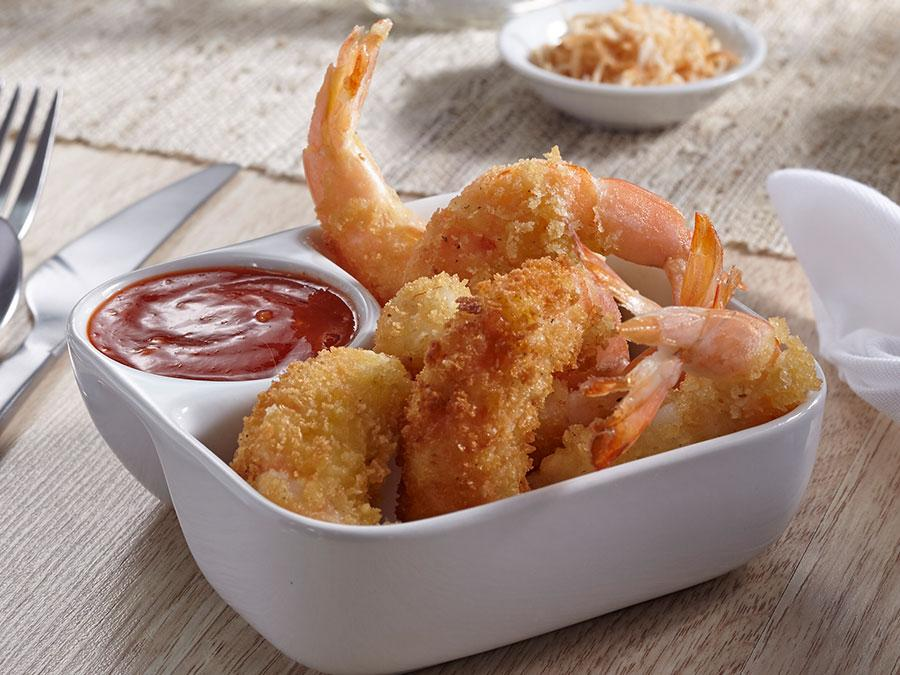 Tempura Shrimp with Lava Sauce