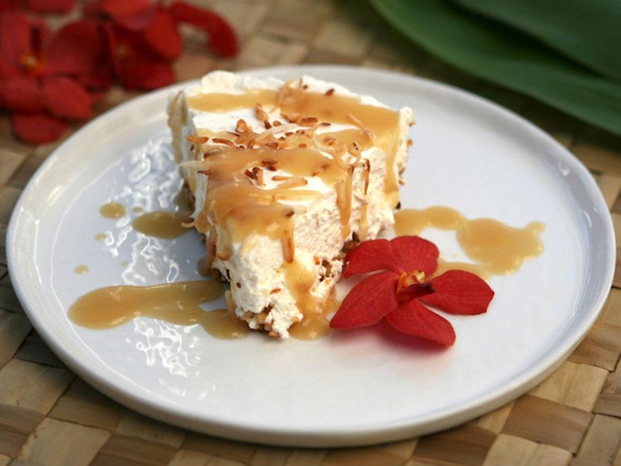Pineapple Mac Nut Cream Pie