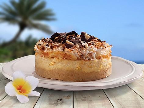 Pineapple Coconut Mini Cheesecakes