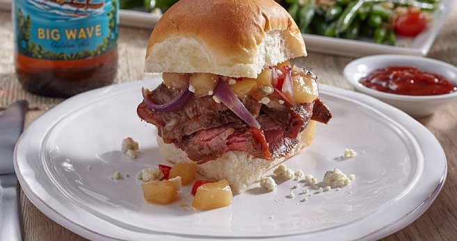 Aloha Steak Sliders